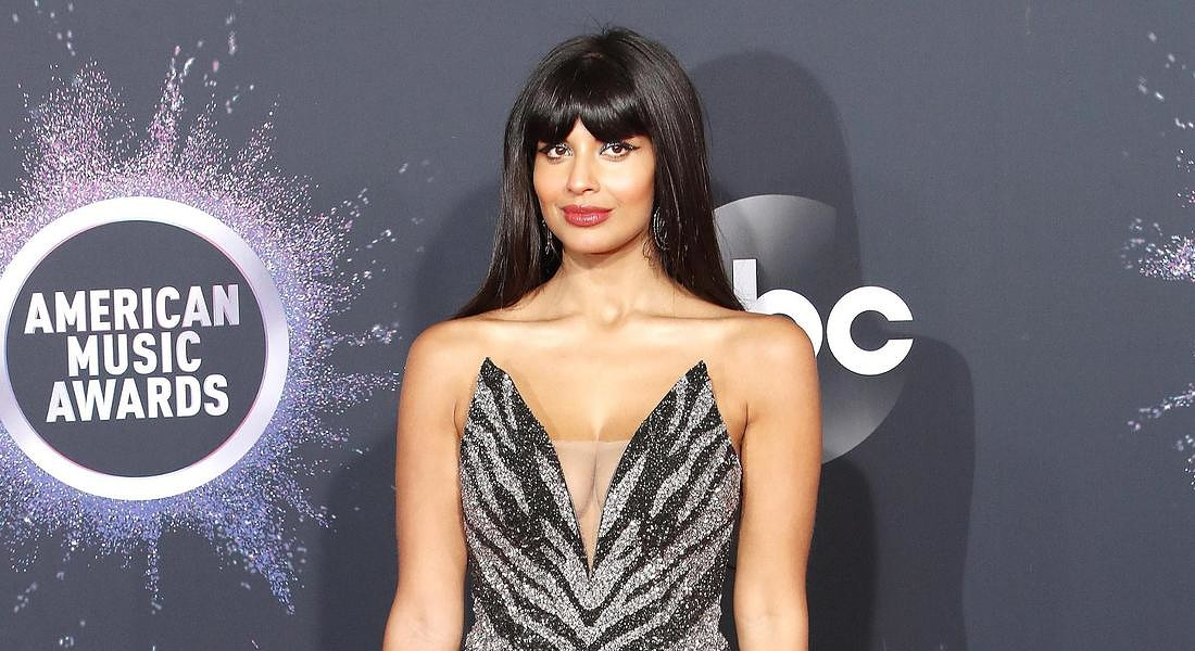 Arrivals - 2019 American Music Awards British actress Jameela Jamil © EPA