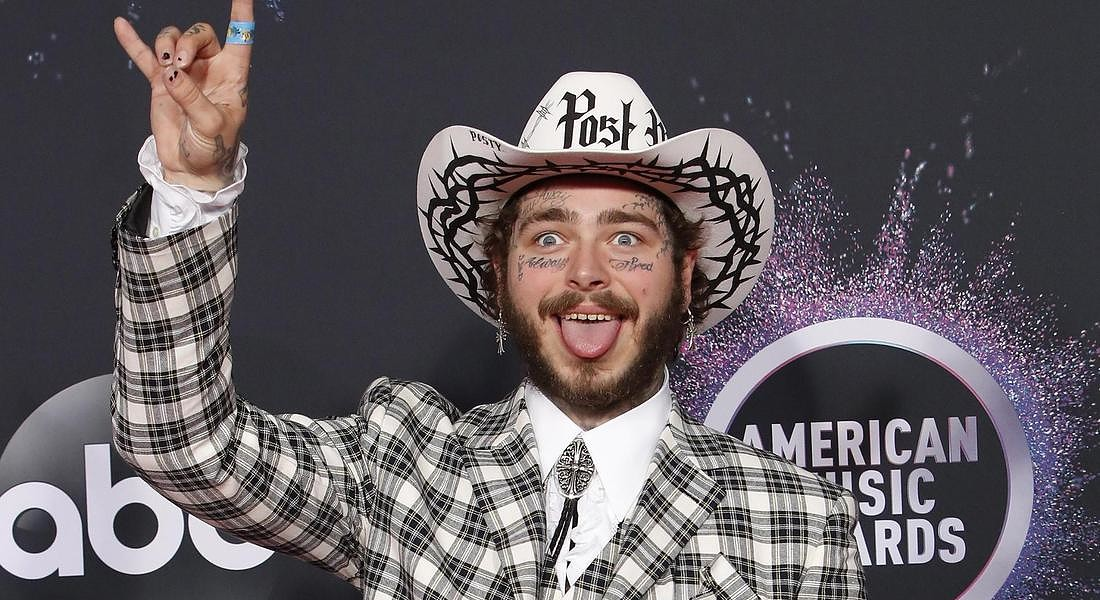 Arrivals - 2019 American Music Awards  US musician Post Malone © EPA