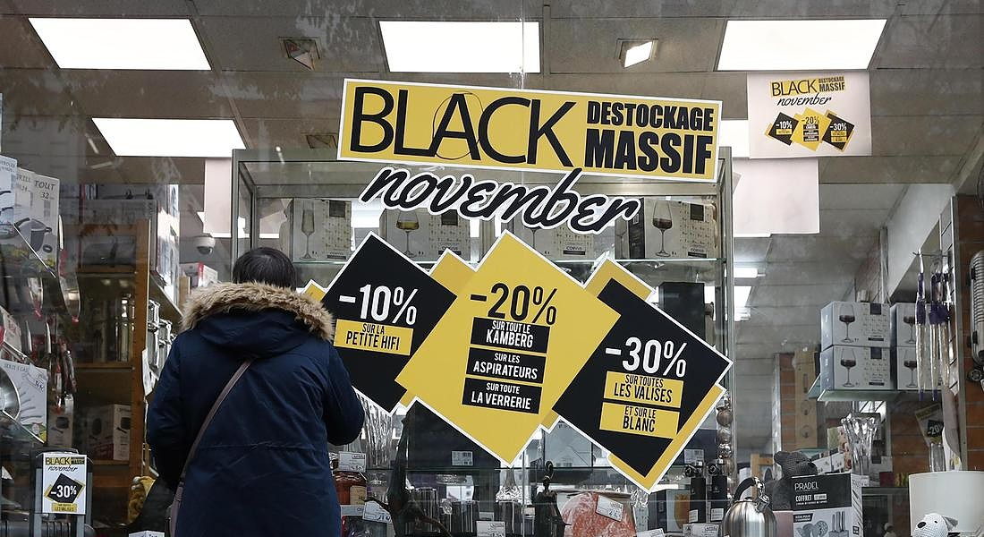 Black Friday shopping in France © EPA