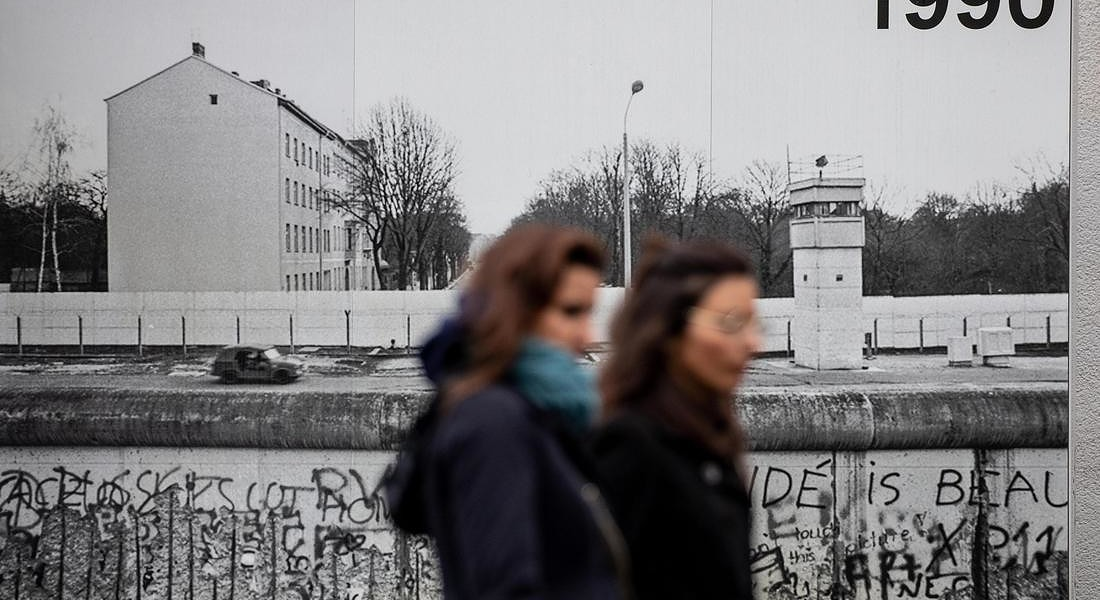 30 years of the fall of the Berlin Wall © EPA