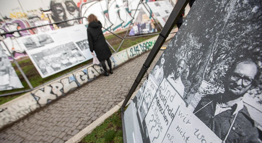 Preparations for 30th anniversary of fall of Berlin Wall celebrations	 © EPA