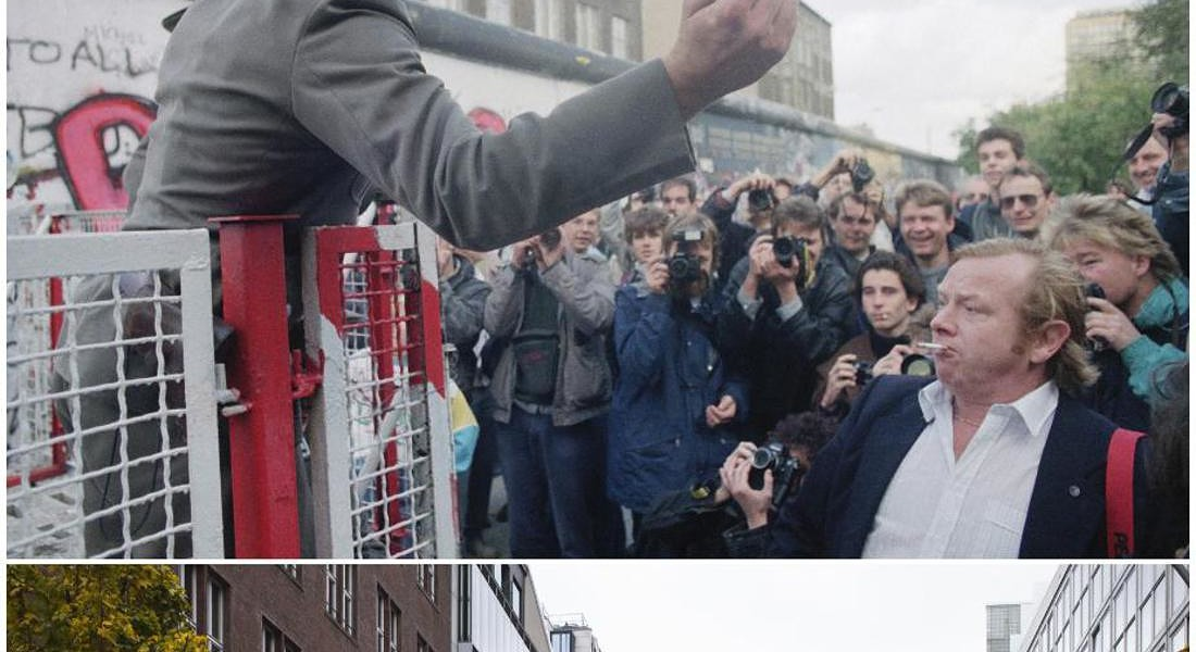 Berlin Wall Now and Then © AP
