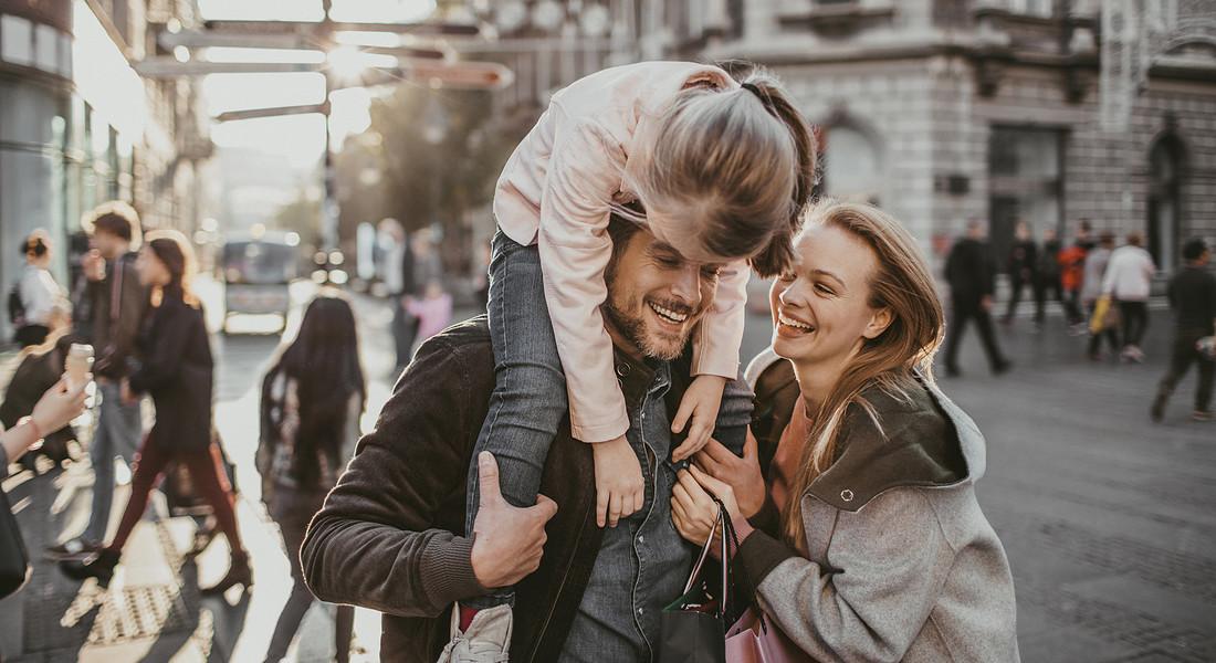 Una famiglia italiana foto iStock. © Ansa
