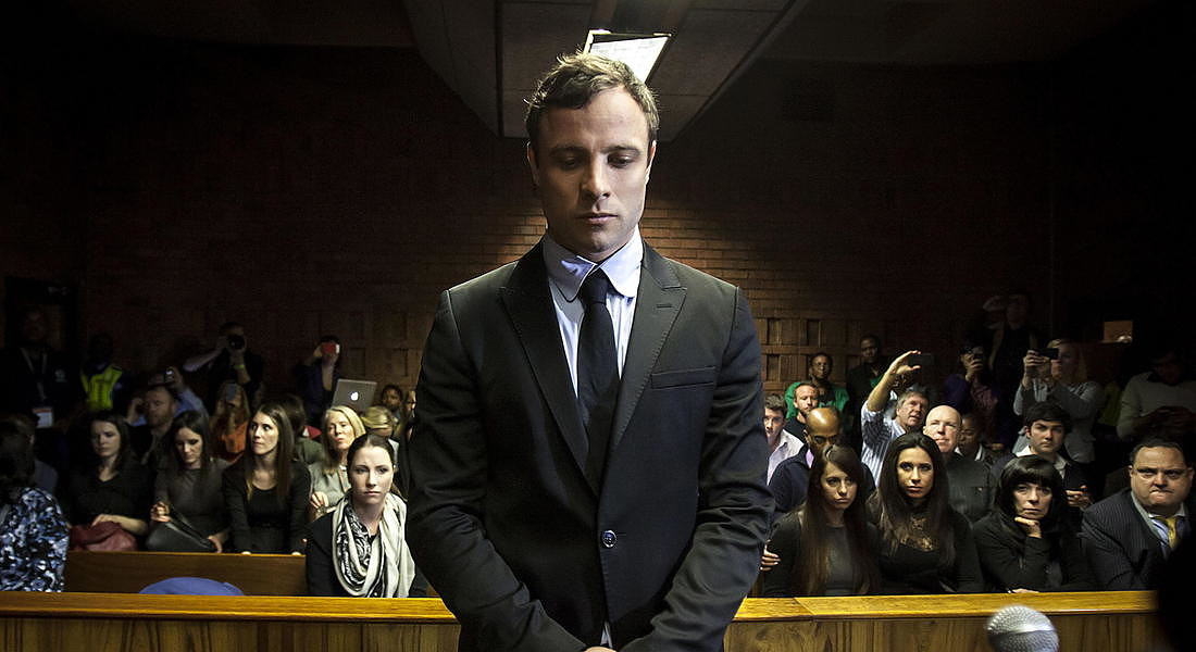Oscar Pistorius released from prison © EPA