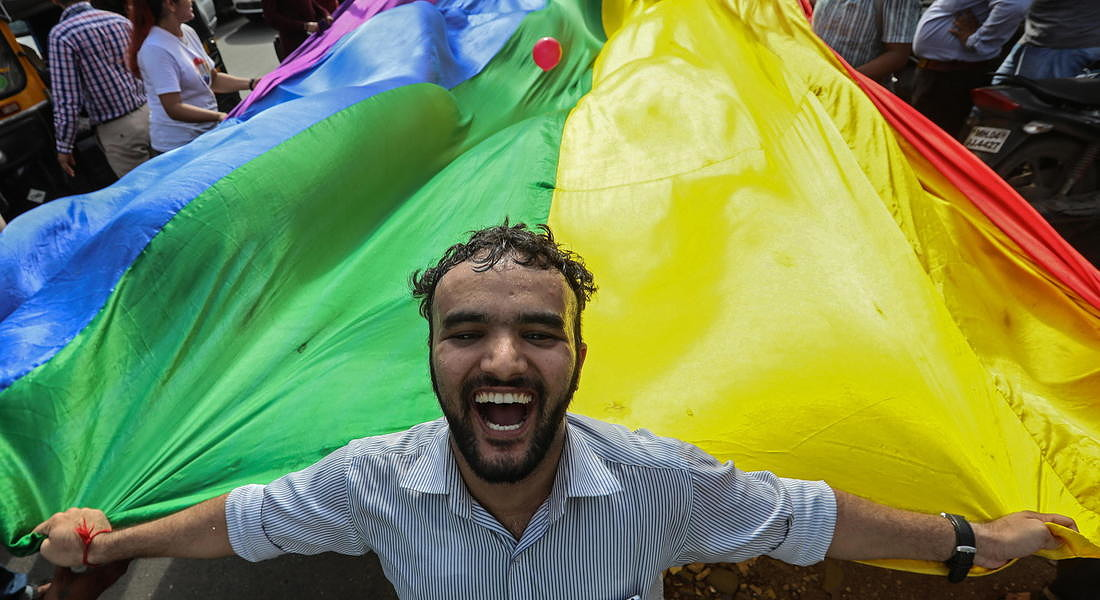 India Supreme Court repealed a law that criminalize gay sex - 2018 © EPA