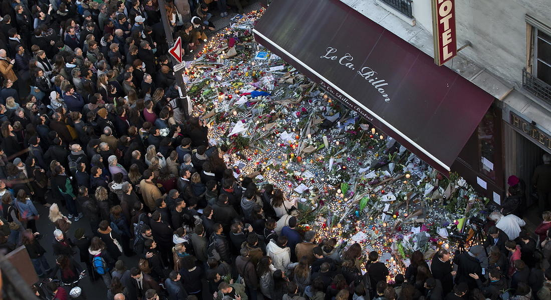 Attacks in Paris aftermath - 2015 © EPA