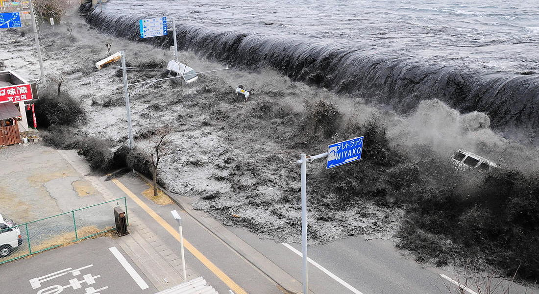 Seven year anniversary of earthquake and tsunami in Japan © EPA