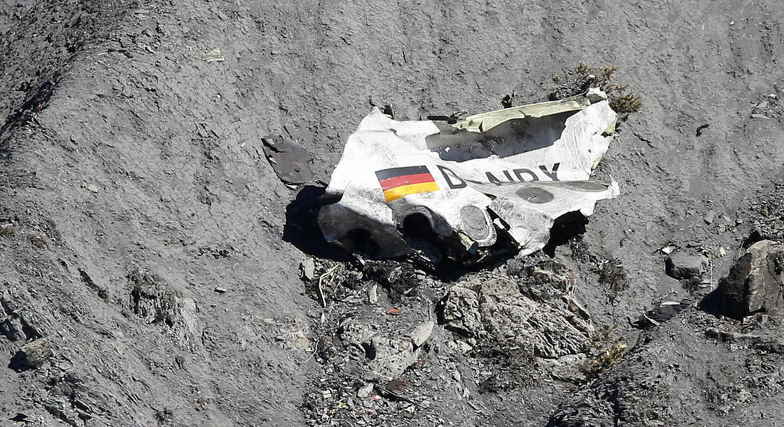 Germanwings A320 crashes over French Alps © EPA