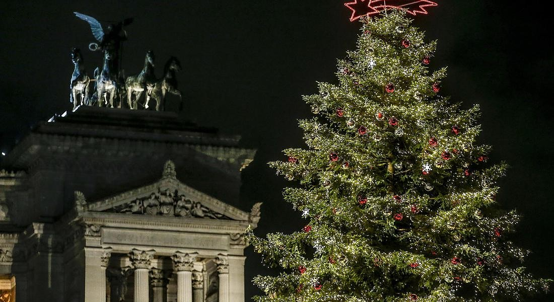 Rome Christmas tree © ANSA