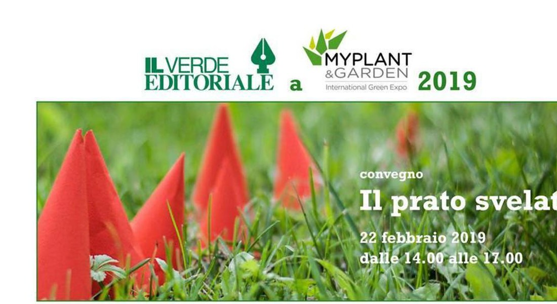 Trend prati : Meeting dedicato ai prati 2019 all'International Green Expo Milano © ANSA