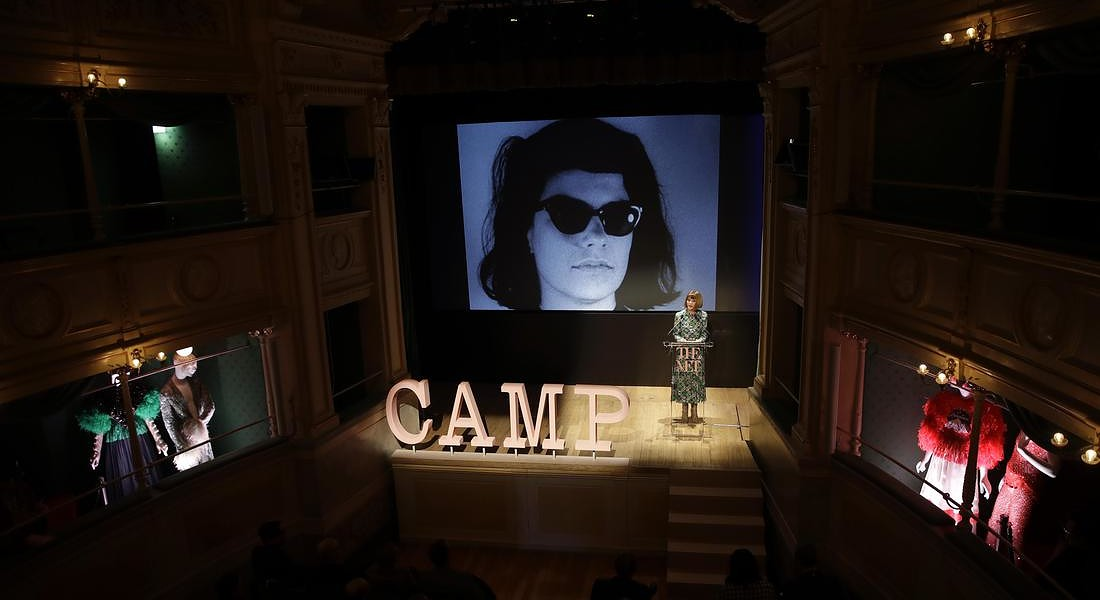 Camp: Notes on fashion, la mostra al Met di New York dal 9 maggio all'8 settembre © AP
