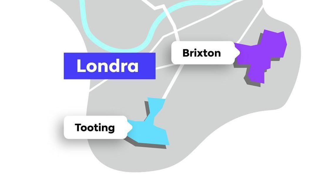 Londra la mappa delle zone emergenti secondo le ricerche su Badi © ANSA