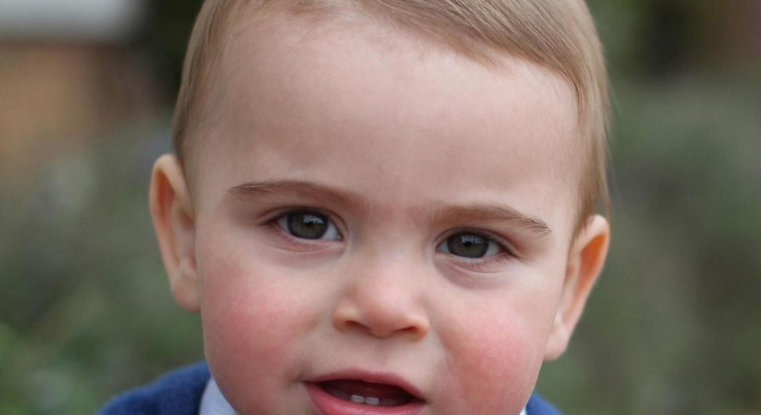 Prince Louis 1st birthday © EPA