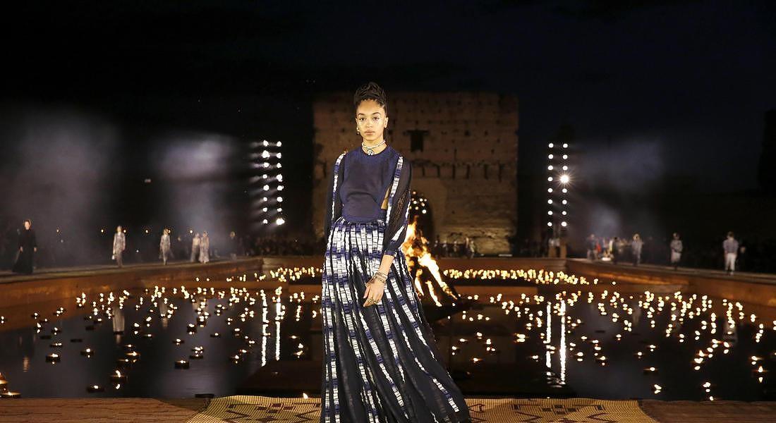 Dior Cruise 2020 sfila a Marrakech © ANSA