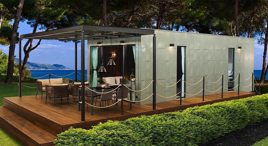 Queenslander, firmata da Luca Colombo, è la luxury mobile home in mostra a Ddn phutura. Crippaconcept © ANSA