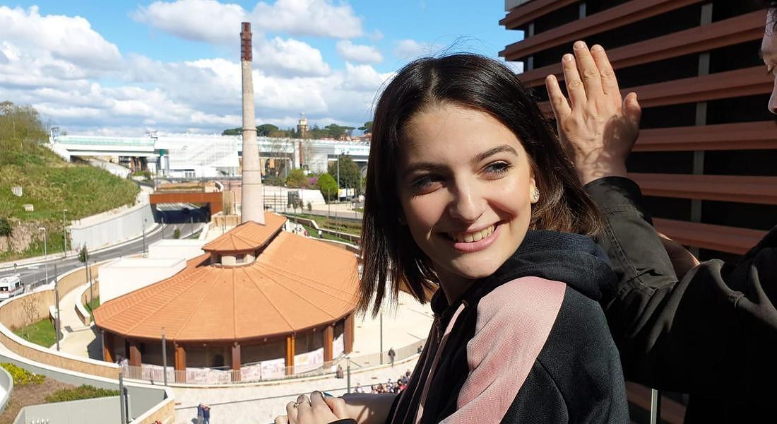 Marta Losito a Roma © ANSA