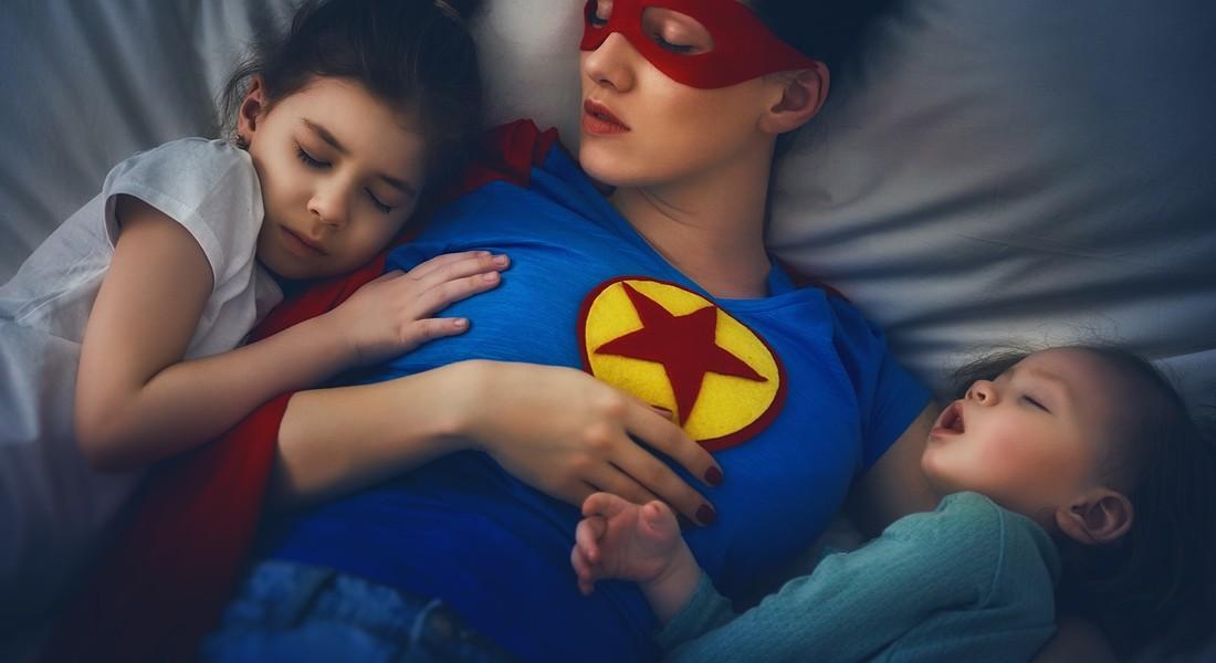 Una 'supermamma' controlla il sonno dei figli foto iStock. © Ansa