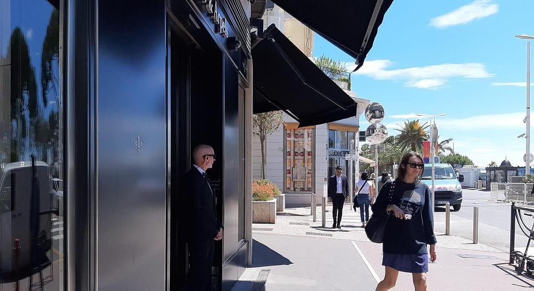 Festival di Cannes 2019: gioiellerie di lusso sulla Croisette © ANSA