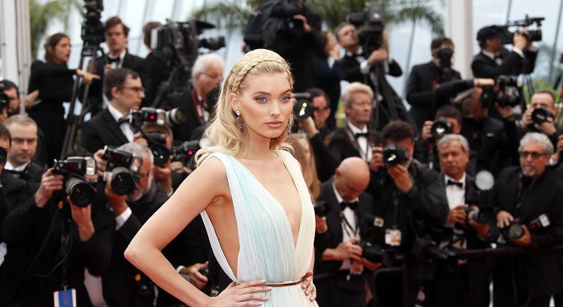 A Hidden Life Premiere - 72nd Cannes Film Festival la modella svedese Elsa Hosk © EPA