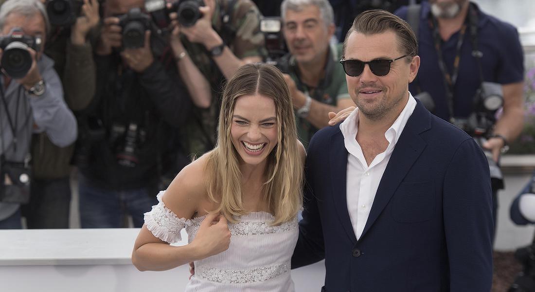 Margot Robbie,Leonardo DiCaprio © AP