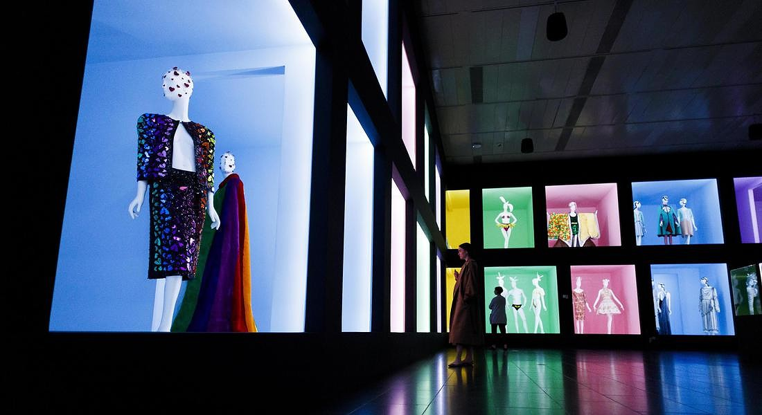 Met Museum Costume Institute exhibit Camp: Notes on Fashion preview © EPA
