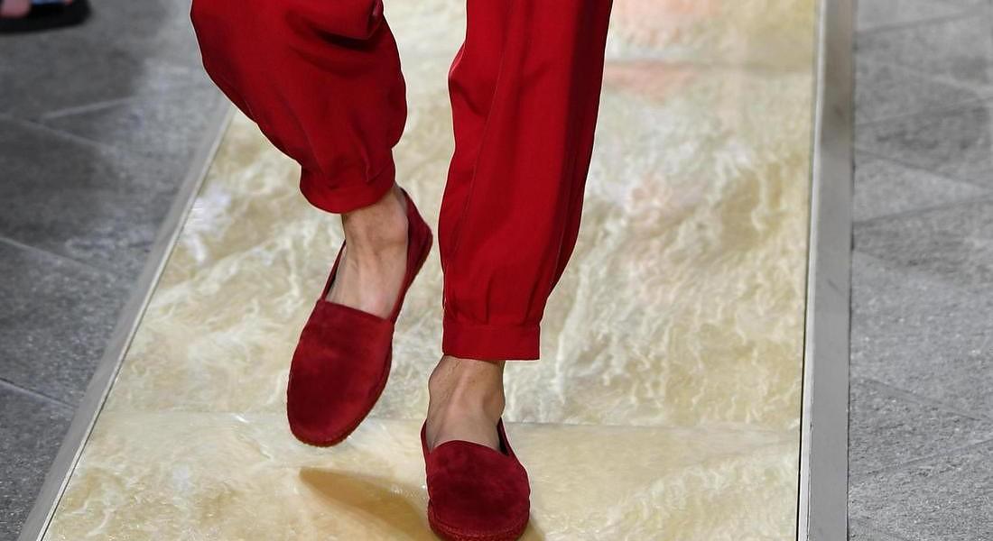 Milan Fashion Week: Spring Summer 2020 Men's collections; Armani © ANSA