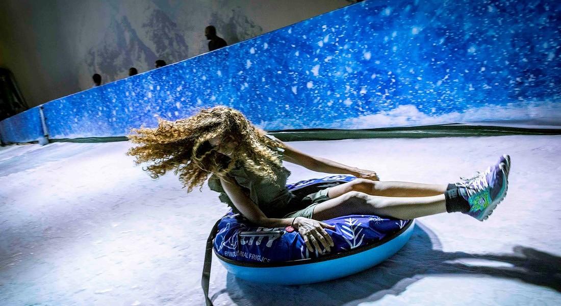 Il Regno del ghiaccio a Cinecittà World, inaugurato il 20 giugno © Ansa