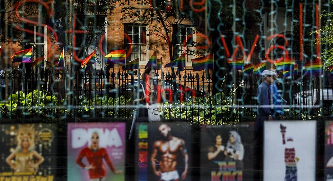 Stonewall Inn, Stonewall Uprising 50th Anniversary in New York © EPA
