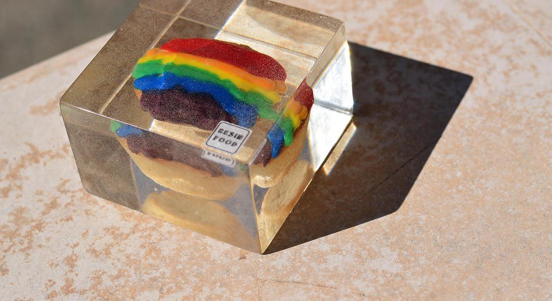 Pasticciotto Rainbow © ANSA