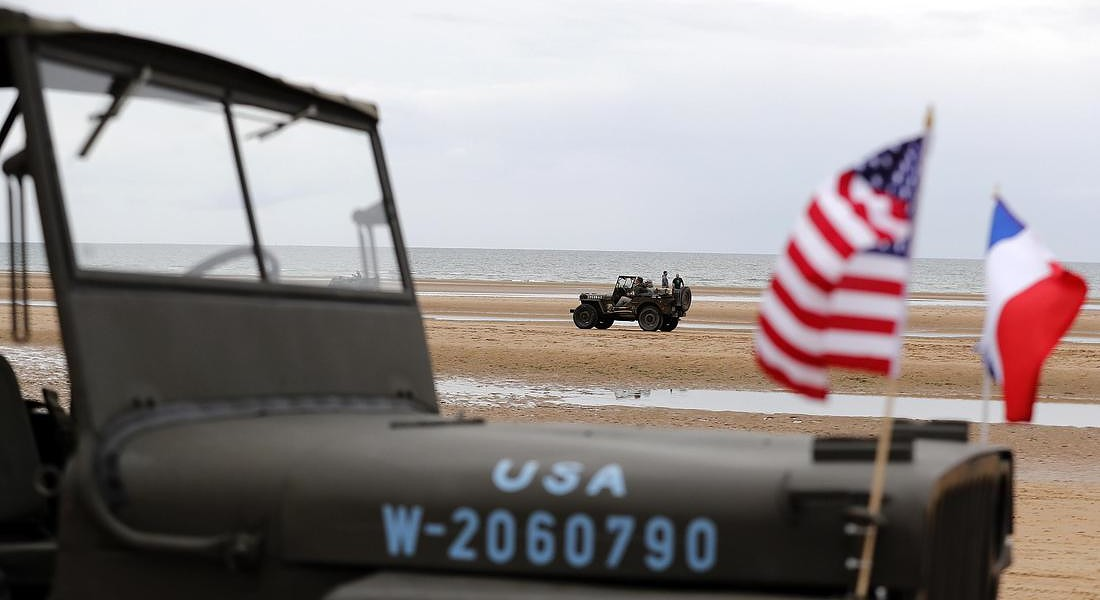 75th anniversary of the Allied landings on D-Day © EPA