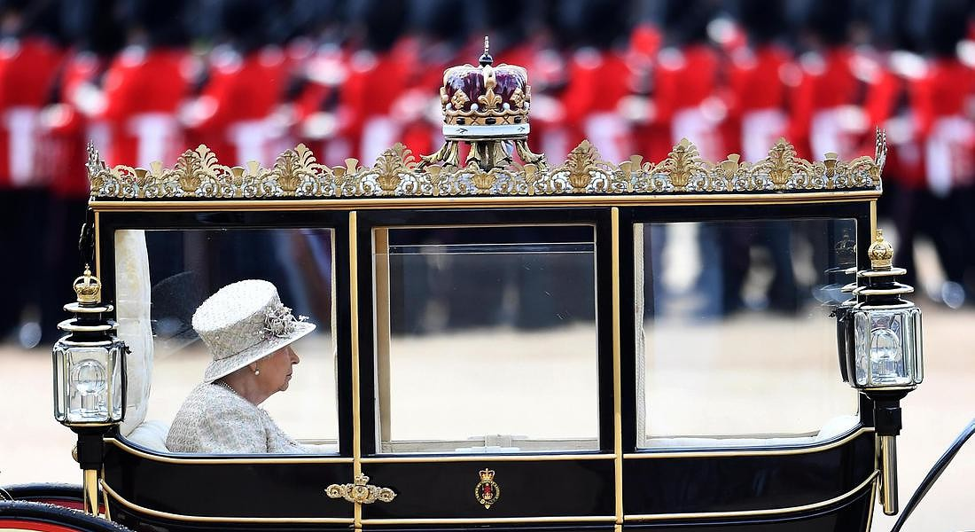Trooping the Colour Queen's birthday parade in London © EPA