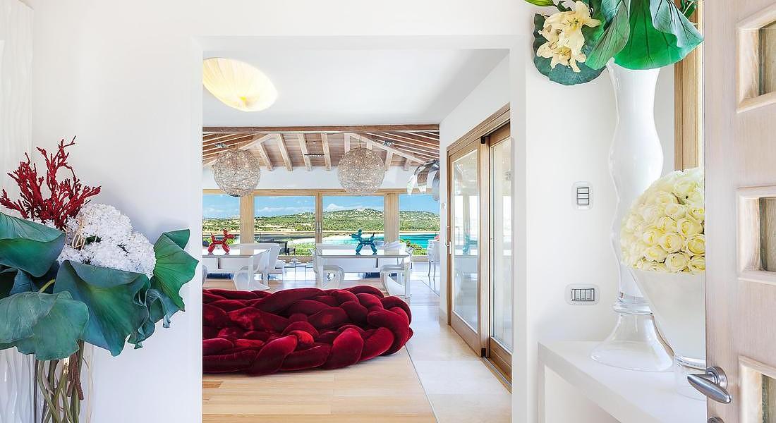 Sardegna Villa George Clooney interiors © ANSA