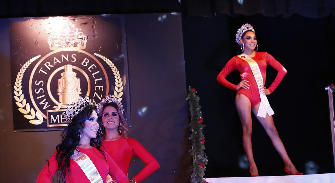 Mexico Transgender Beauty Contest © AP
