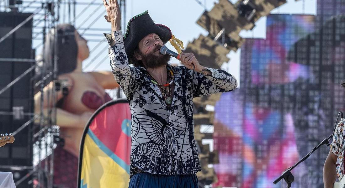 Jovanotti performs during his concert ?Jova Beach Party? © ANSA