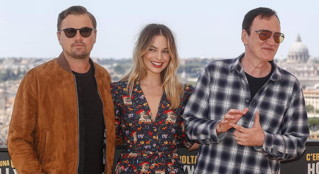 Photocall of 'Once upon a time in... Hollywood' in Rome © ANSA