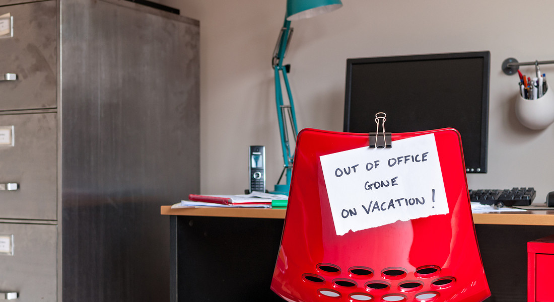 Out of office - sono in vacanza foto iStock. © Ansa