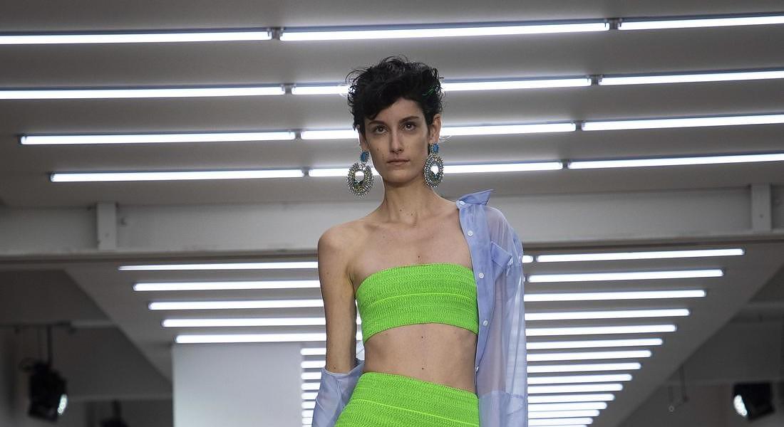 Britain London Fashion S/S 2020 Mark Fast © AP
