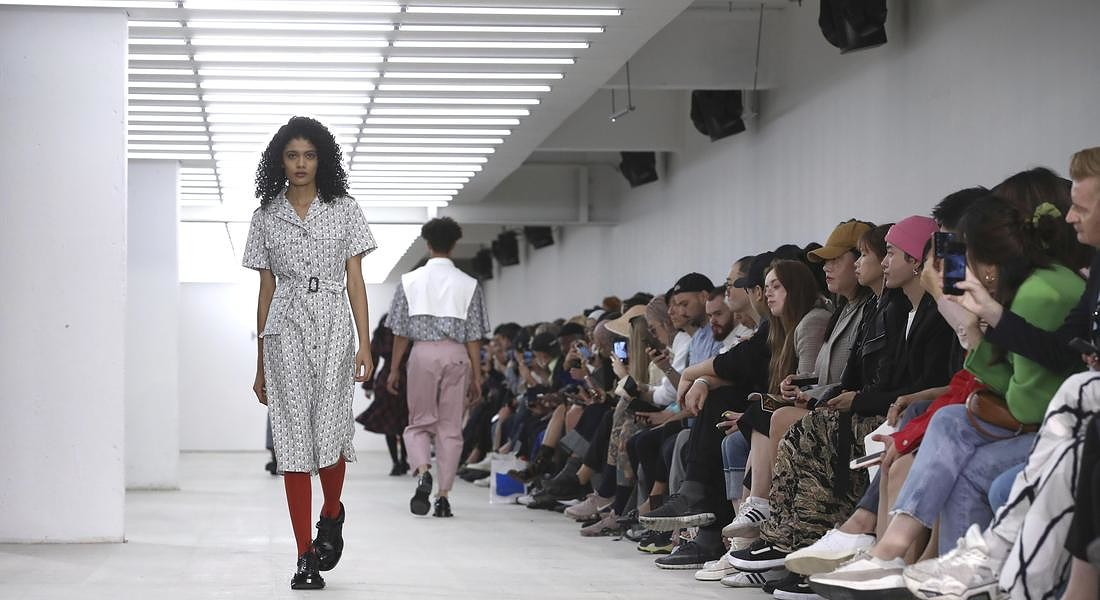 Britain London Fashion S/S 2020 Hazzys © AP
