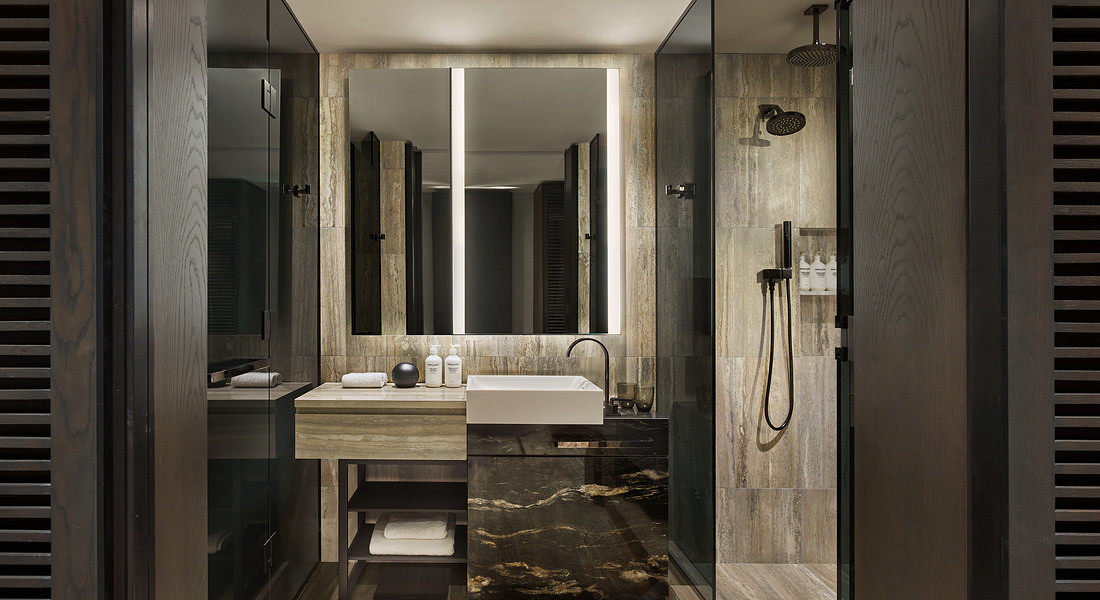 Equinox Hotel si trova in un grattacielo di 91 piani all'interno dell'Hudson Yards a New York © Ansa