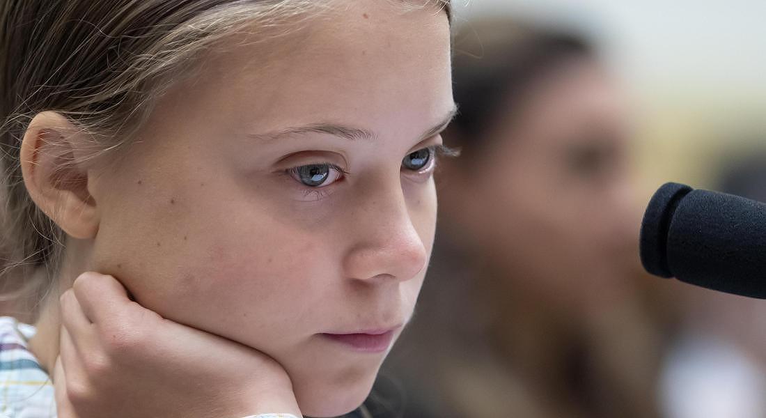 Swedish climate activist Greta Thunberg attends Congressional hearing © EPA