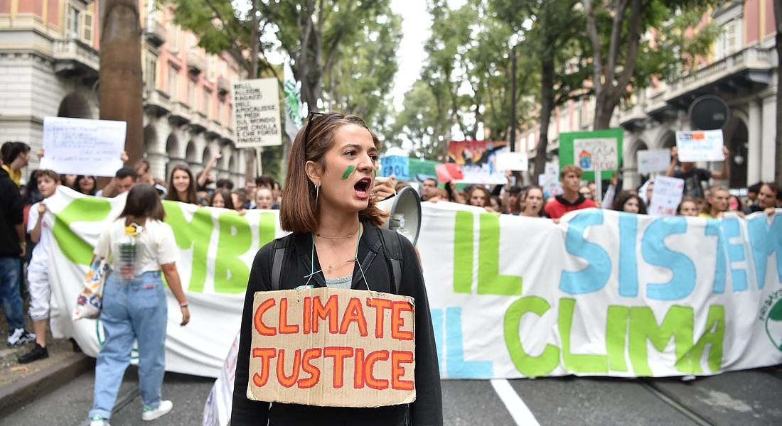 Global Youth Climate Strike in Turin © ANSA