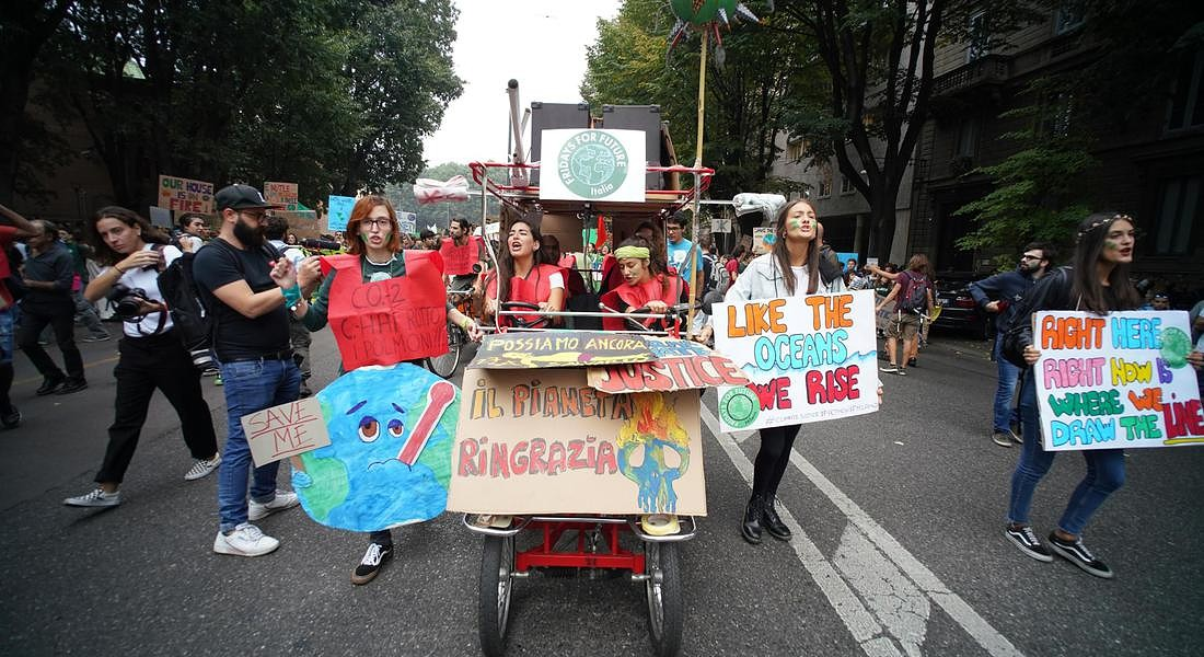 Global Youth Climate Strike in Milan © ANSA