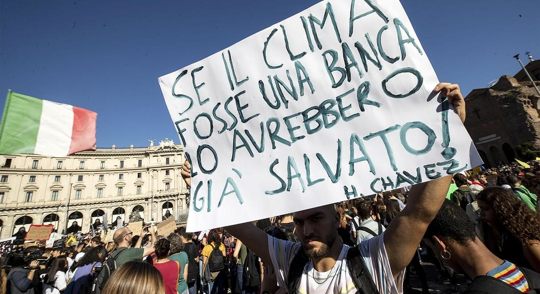 Global Youth Climate Strike in Rome © ANSA