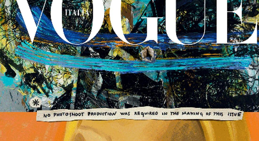 Vogue Italia di gennaio: le cover illustrate © ANSA