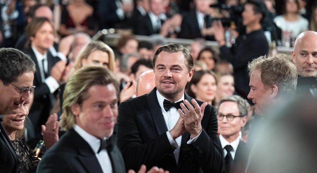 Ceremony - 77th Golden Globe Awards: Leonardo DiCaprio e Brad Pitt © EPA