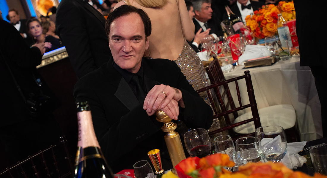 Ceremony - 77th Golden Globe Awards: Quentin Tarantino © EPA