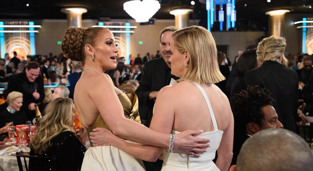 Ceremony - 77th Golden Globe Awards: Jennifer Lopez and Reese Witherspoon © EPA