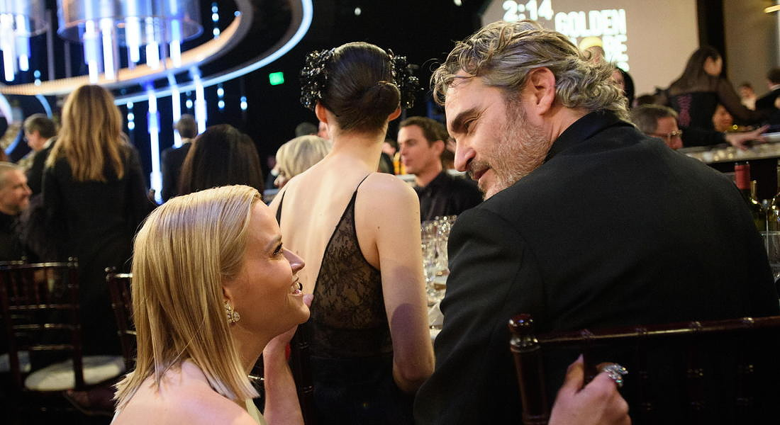 Ceremony - 77th Golden Globe Awards: Reese Witherspoon and Joaquin Phoenix © EPA