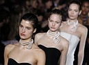 Paris Fashion: la sfilata di Stella McCartney, eco-stilista (ANSA)