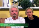 Richard Branson, siamo una rock band in bici per l'Italia (ANSA)